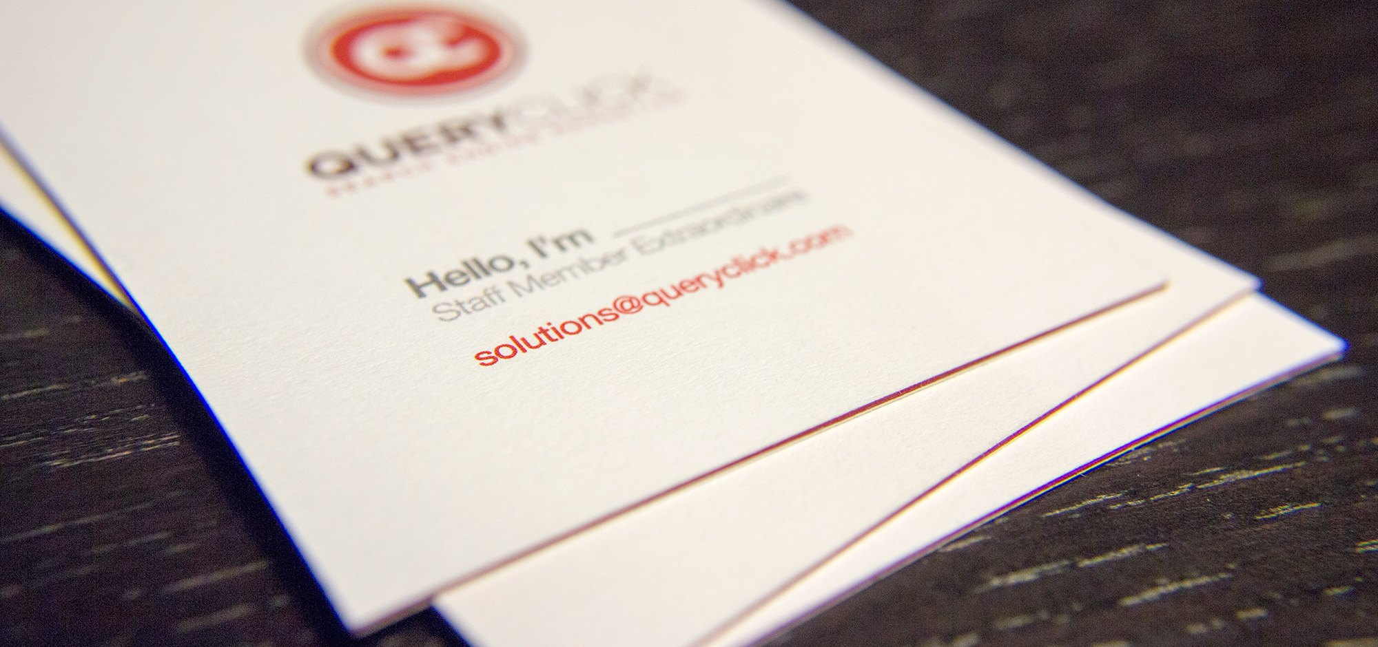 QueryClick - Business Cards